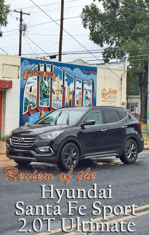 Review of the 2017 Hyundai Santa Fe Sport 2.0T Ultimate.