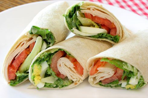 Wrap Sandwich Recipes - CDKitchen