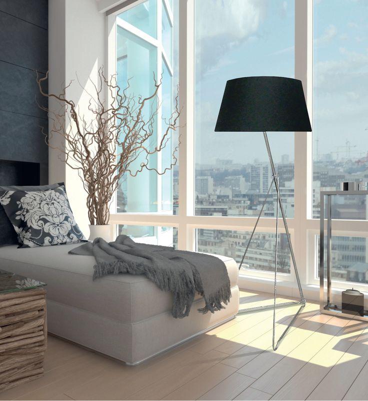 Lampa podłogowa Zuma Line Gallieo to kwintesencja nowoczesnej elegancji. Dzięki prostej konstrukcji bez zbędnych dodatków dodaje oryginalnego charakteru każdemu wnętrzu.