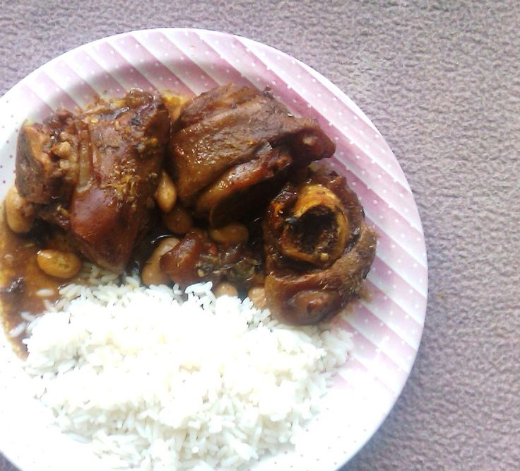 JAMAICAN COW FOOT STEW