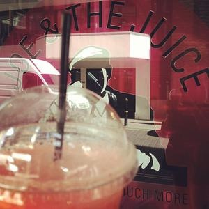 "Joe & The Juice - Danish juice bar - try ""A hell of a nerve"" Yummy!"