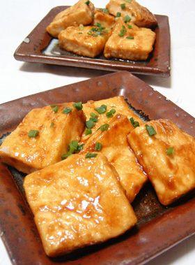 Tofu Steak 豆腐なのにご飯がススム!簡単豆腐ステーキ