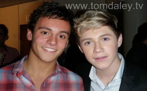 Tom Daley and Niall