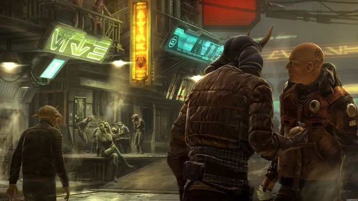 Fashion and Action: 1313 Dev Art - You Got Your Blade Runner in My Star Wars...