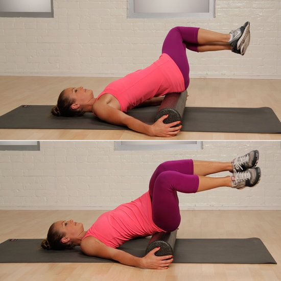 I think I could get into this foam rolling thing - Foam Rolling Exercises For Runners