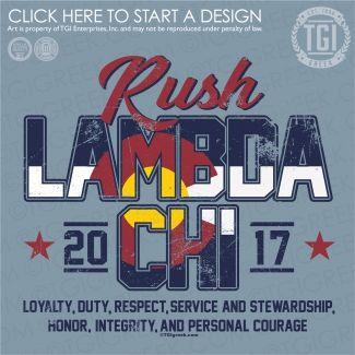 Lambda Chi Alpha   ΛΧΑ   Rush   Rush Shirt   Fraternity Rush   TGI Greek   Greek Apparel   Custom Apparel   Fraternity Tee Shirts   Fraternity T-shirts   Custom T-Shirts
