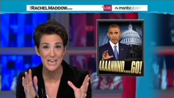"MSNBC's Maddow: ""Tone On Conservative Talk Radio"" Is That GOP Only Elected To ""Destroy Barack Obama"""