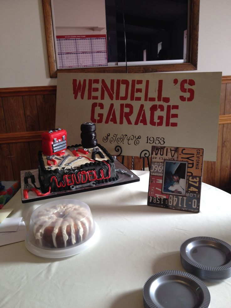 23 Best Mechanic Bday Party Ideas Images On Pinterest