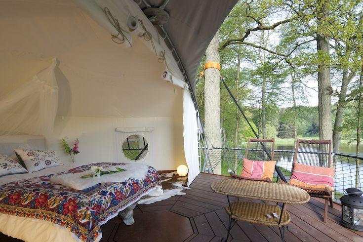 Für Naturfreunde: Baumhaus ohne, den Baum zu beschädigen. Dom'Up Treehouse   iGNANT.de