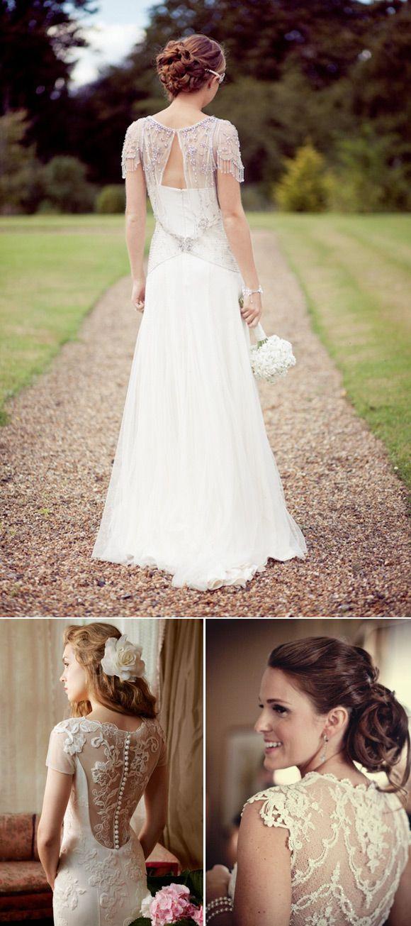 Vestidos de novia Vintage: Jenny Packham, Alan Hannah, Claire Pettibone