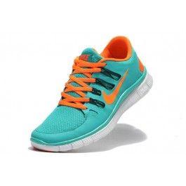 Nike Free 5.0+ Herresko Lysblå Oransje | Nike sko tilbud | billige Nike sko på nett | Nike sko nettbutikk norge | ovostore.com