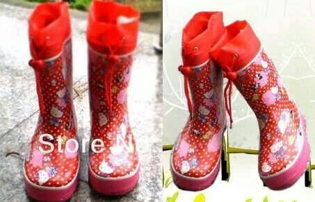 READY STOCK KIDS RAIN BOOTS KODE : Red Kitty PRICE : Rp.175.000,- AVAILABLE SIZE : - Size 30 - Size 32 - Size 33   FOR ORDER : SMS/WHATSAPP 087777111986 PIN BB 766A6420  #pusat #sepatu #boots #anak #retail #grosir #kids #rain #shoes #import #rubber #karet #hujan #anti #air #red #merah #kitty #tali #serut #mayorishop #bogor #online #ready #stock