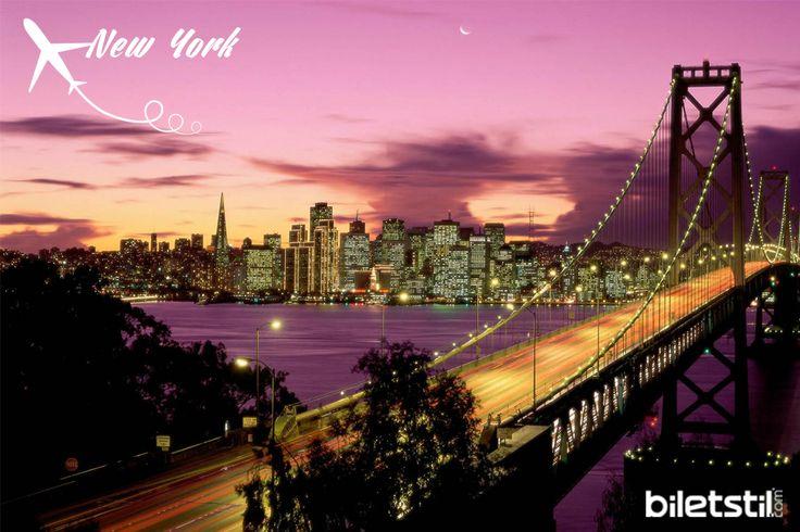 Biletstil ile dünyanın en çok görülmek istenen şehri New York'u keşfedin! Tiyatrolar, müzikaller, müzeler, finans merkezi ve her sokağı eğlence dolu muhteşem bir şehir...