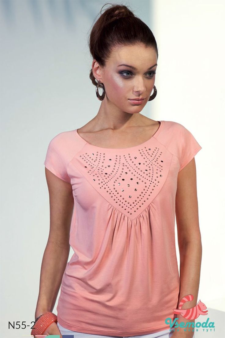 Блузка N55-2 Фирма производитель: Sunwear Страна производитель: Польша Артикул: N52-2 Размер: 44-54
