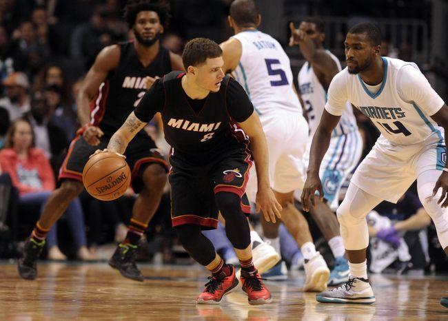 Miami Heat vs. Charlotte Hornets - 3/8/17 NBA Pick, Odds, and Prediction