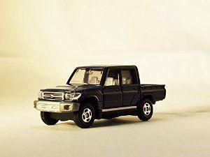 TAKARA TOMY TOMICA Street Car JAPAN TOYOTA LAND CRUISER 103 Vehicle Diecast Dark Blue Color