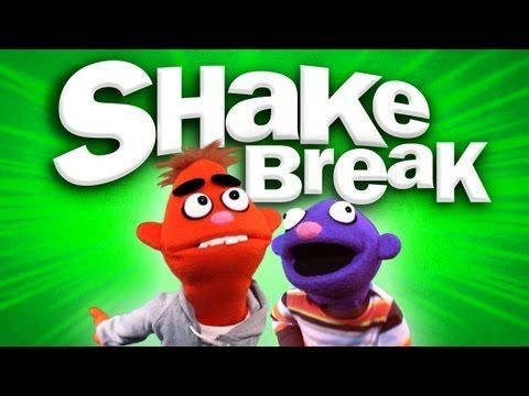 SHAKE BREAK- great to play when kids need to shake out the wiggles (Song for Kids ♫ 1:27)