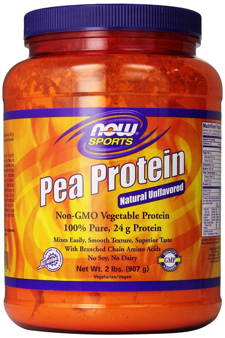 Amazon.com: Now Foods Pea Protein, 2 Pound: Health & Personal Care