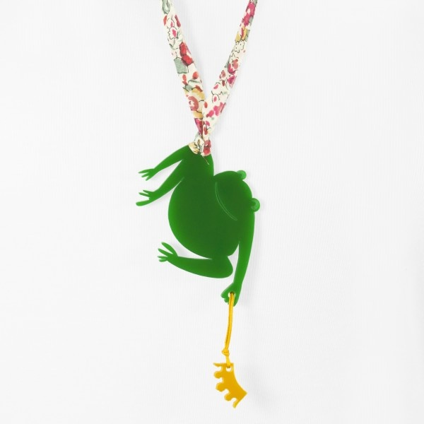 Ghika Frog - Necklace