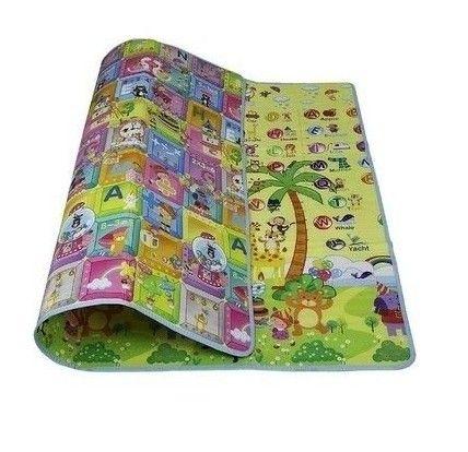 Tapete Interativo Dupla Face Portátil Pequeno  Dimensões: 1,60x1,20  R$139,90  Compre pelo site www.missybaby.com.br