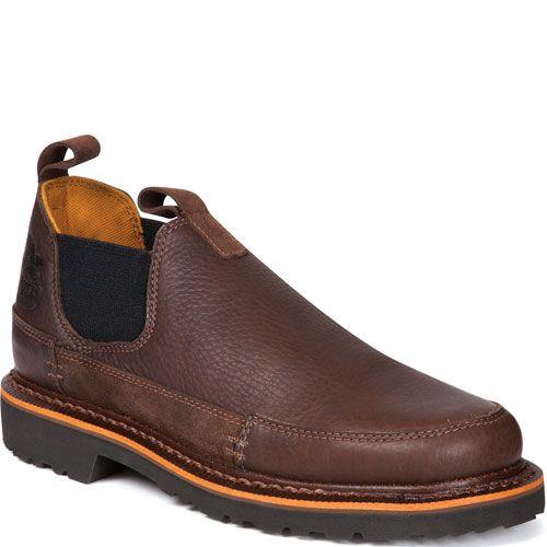 Wearing Brown Romeo Shoes