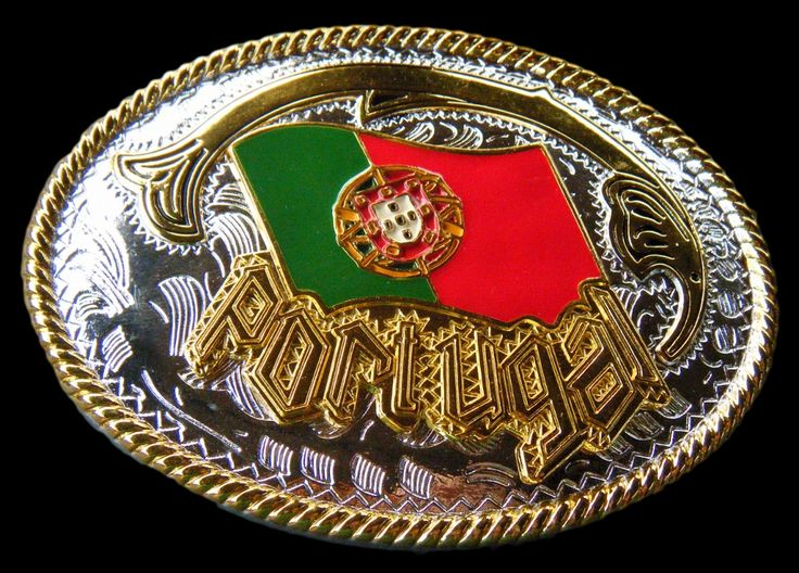 Portugal Bandeira Portuguesa Quinas Flag Belts Buckles Price $14.99