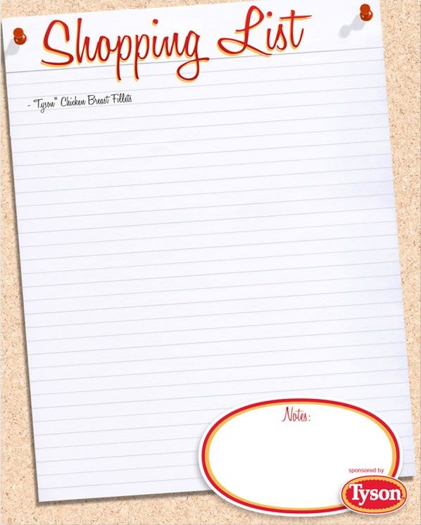 7 best grocery list images on Pinterest Free printables, Dinner - grocery list form