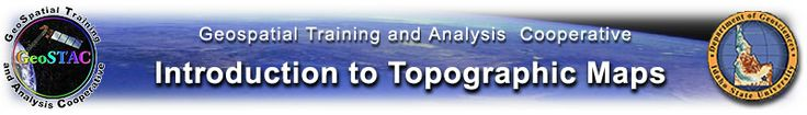 Introduction to Topographic Maps Banner