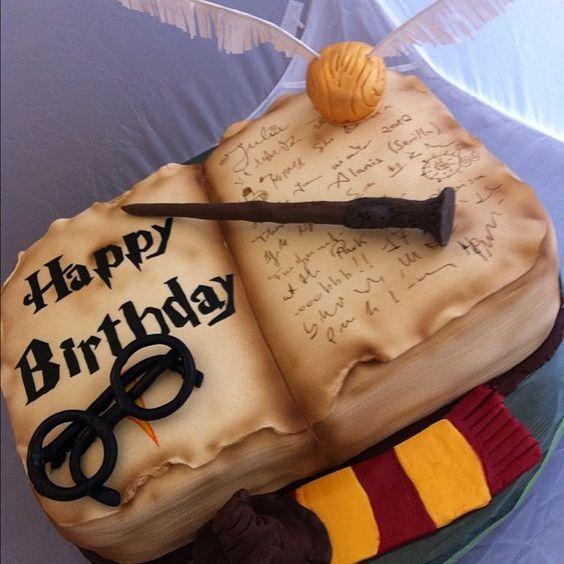 Harry Potter marcó a una generación. Y obvio, no podía quedar afuera de la pastelería. Mundo Pastel te acerca sugerencias para homenajear a los lectores.