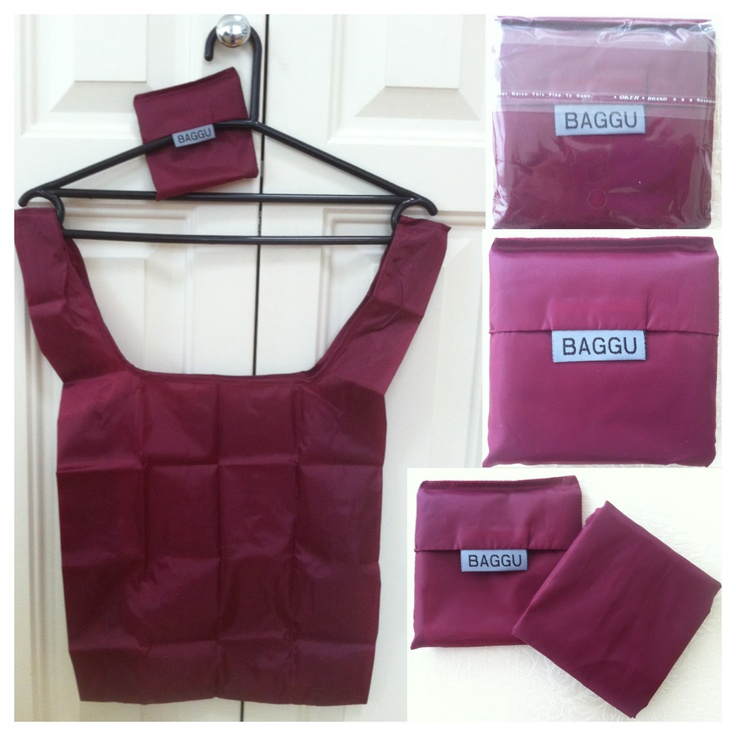 BAGGU - Burgundy - AUD$6.00 + postage or local pick up available.