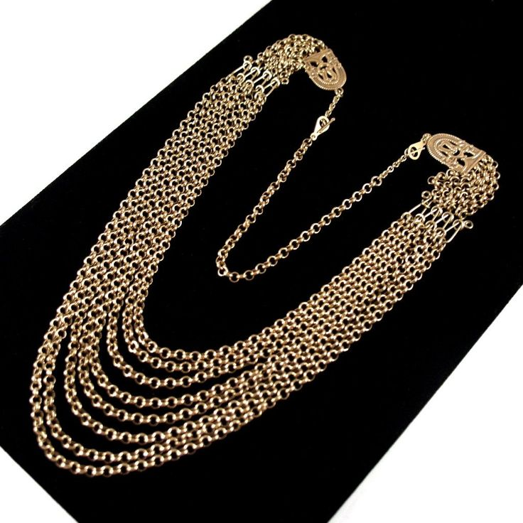 Rare Kalevala Koru Necklace - Bronze - Original Box - Paradise Necklace