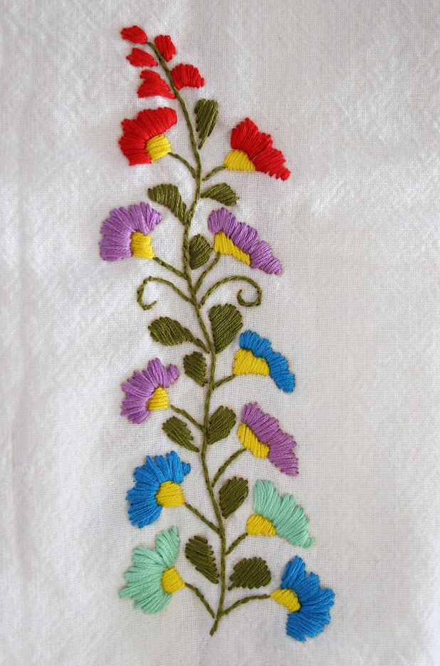 Ideas about floral embroidery patterns on pinterest