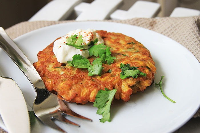 Spicy Corn Fritters | Fried cakes | Pinterest
