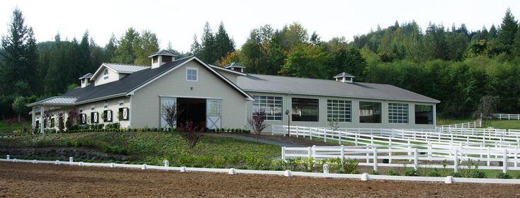 Deviere Farm - design by Equine Facility Design