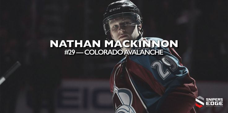 CCM Player of the Week - NATHAN MACKINNON  Born in Halifax, NS Mackinnon was drafted in 2013 as a Center for the Colorado Avalanche  We are the Official Training Aid Supplier to CCM Hockey!  https://www.snipersedgehockey.com/?utm_content=buffer77029&utm_medium=social&utm_source=pinterest.com&utm_campaign=buffer #ccm #hockey #goal