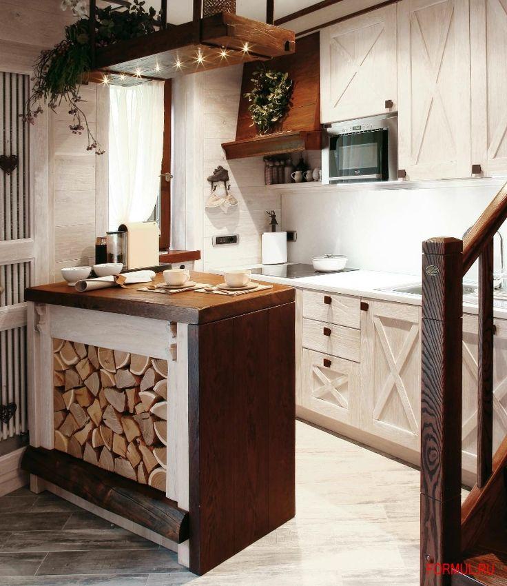 Кухня в стиле шале - Look at Home