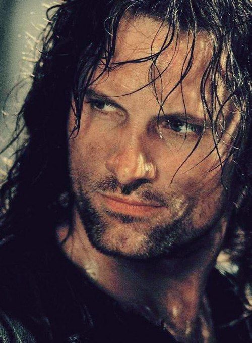 Aragorn, a man of many names...Strider, Elessar, Estel, Good lookin', Handsome, Beefcake, etc...(ok I admit some of those are my names for him). <--Hahaha, I'm dying!