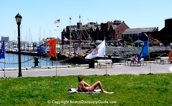 Find the best outdoor Boston activities for summer, including lots for free or low cost - sailing, bike riding, running along the Esplanade, swimming, hiking, beaches, and more!