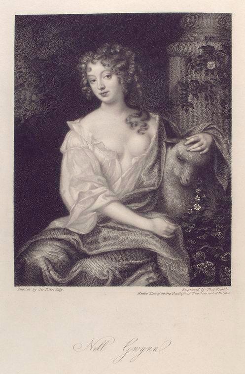 Nell Gwynn. (1833) - Longtime mistress of Charles II.