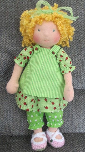 Waldorf doll epattern...love this clothes set