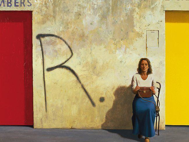 Jeffrey Smart Portrait of Germaine Greer, 1984