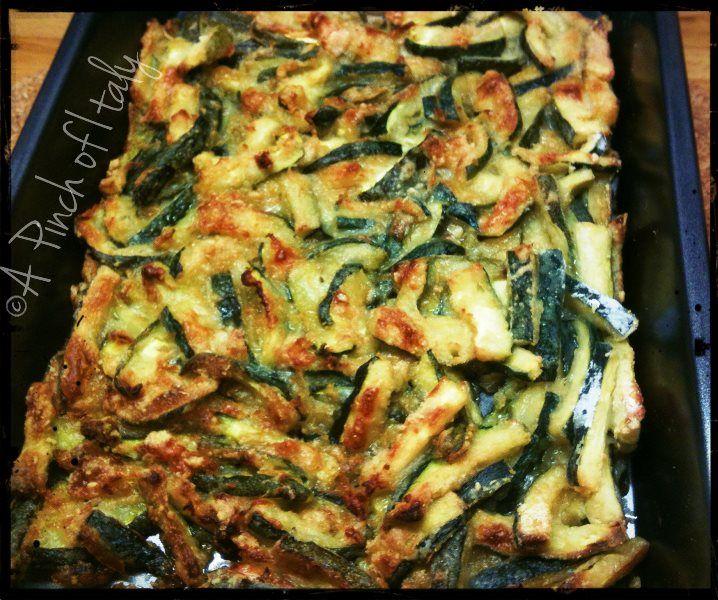 Parmesan Courgettes, Noble Zucchini