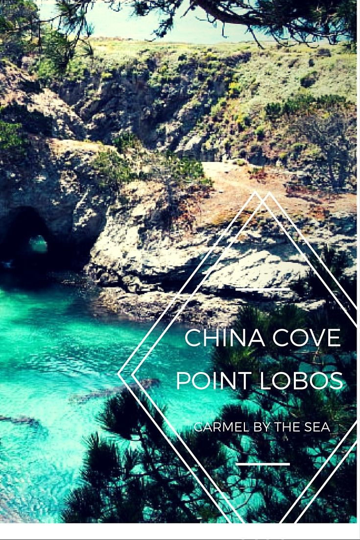 Hidden Beaches China Cove California 5 FUN THINGS TO DO IN CARMEL BY THE SEA: #3 Dive in.... #daytripdreams