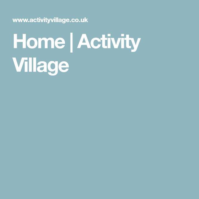 Home | Activity Village