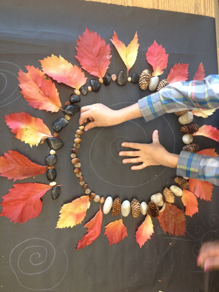 Nature's spirals and Andy Goldsworthy