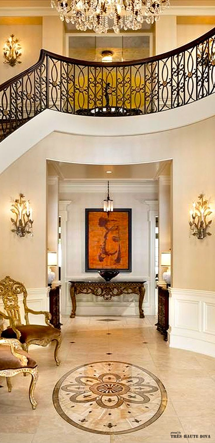 Foyer Grand Quevilly : Best images about luxury interior designs on pinterest