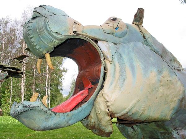 Outsider Finnish artist Alpo Koivumäki