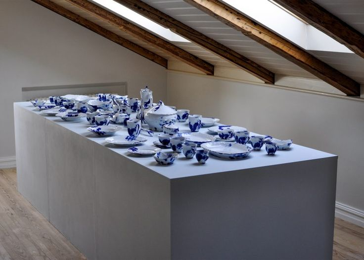 The Human Trace is traditional tableware marked with the fingerprints of its makers