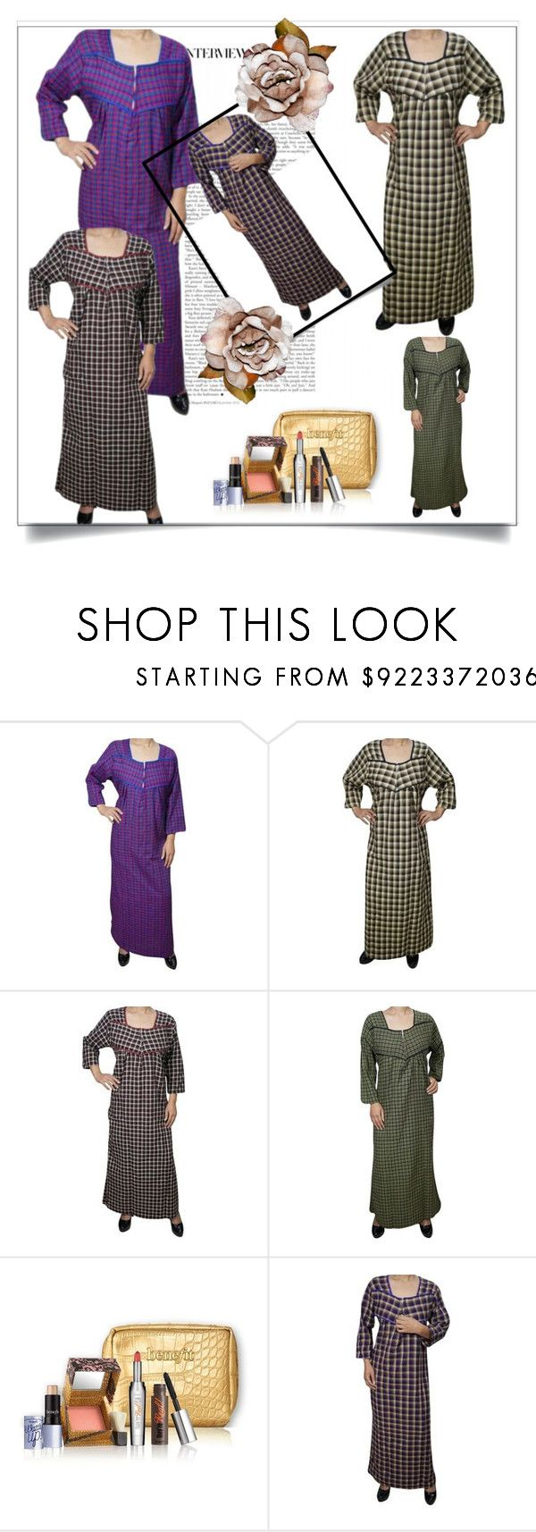 """""""Full Sleeve Cotton Nightwear"""" by royalimports ❤ liked on Polyvore"""