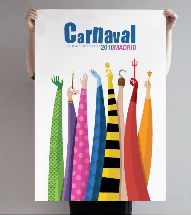 Modesto Garcia · Portafolio personal · Diseño de identidad corporativa » Blog Archive » Carnaval Madrid 2010